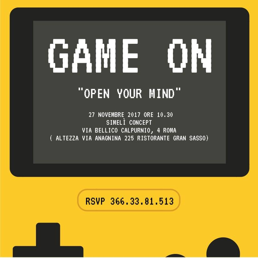 Locandina Open day - Open your mind